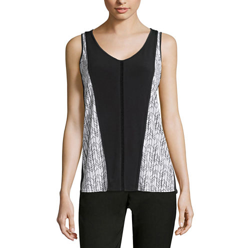 Worthington® Blocked Tank Top