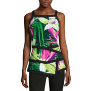 Worthington® Sleeveless Framed Peplum Top - Tall