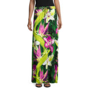 Worthington® Tie-Waist Knit Maxi Skirt - Petite