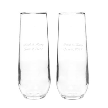 jcpenney.com | Cathy's Concepts Set of 2 Stemless Champagne Toasting Flutes