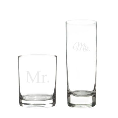 jcpenney.com | Cathy's Concepts Mr. & Mrs. Cocktail Set
