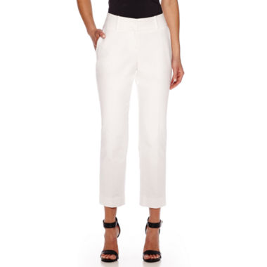 jcpenney.com | Worthington® Curvy Fit Ankle Pants