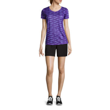 jcpenney.com | Made for Life™ Quick-Dri Performance Tee or Knit Colorblock Capri