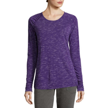 jcpenney.com | Made for Life™ Long-Sleeve Tee - Tall