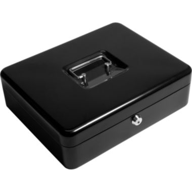 "jcpenney.com | Barska® 12"" Cash Box & Coin Tray with Key Lock"