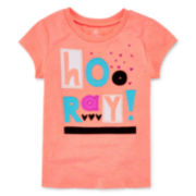 Okie Dokie® Short-Sleeve Classic Tee - Toddler Girls 2t-5t