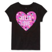 Okie Dokie® Short-Sleeve Classic Tee - Toddler Girls 2t-5t