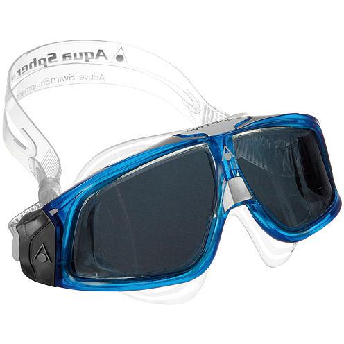 Us Driver Seal Mask Smoke Transparent Swim Goggles