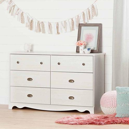 Caravell 6-Drawer Dresser