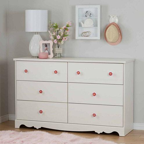 Lily Rose 6-Drawer Dresser