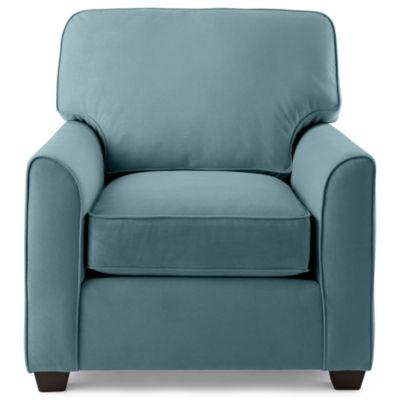Fabric Possibilities Sharkfin-Arm Chair