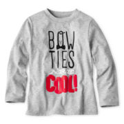 Okie Dokie® Graphic Long-Sleeve Tee - Boys 2y-6