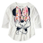 Disney Minnie Mouse Long-Sleeve Hi-Low Top - Girls 6-16