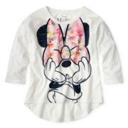Disney Minnie Mouse Long-Sleeve Hi-Low Top - Girls 6-16