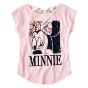 Disney Minnie Mouse Sleeveless Bow Back Tee - Girls 6-16