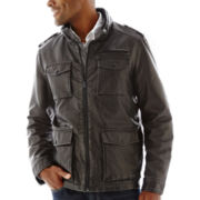 Dockers® 4-Pocket Faux-Leather Jacket