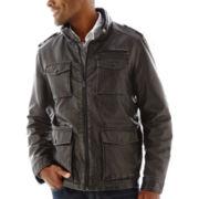 Dockers® 4-Pocket Faux-Leather Jacket