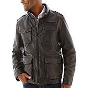 Dockers 174 4 Pocket Faux Leather Jacket