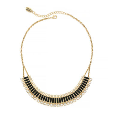 jcpenney.com | nicole by Nicole Miller® Crystal Gold-Tone Collar Necklace