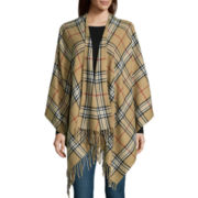 V. Fraas Plaid Wrap