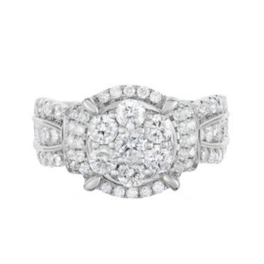jcpenney.com | 2 Ct. T.W. Diamond 10K White Gold Engagement Ring