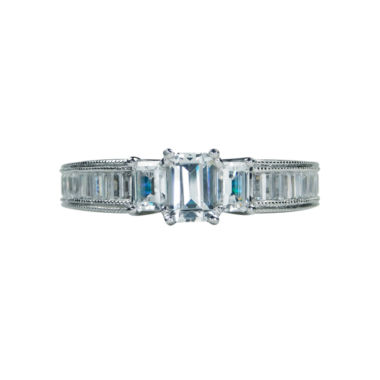 jcpenney.com | Modern Bride® Signature 1 1/2 CT. T.W. Diamond 14K White Gold Engagement Ring