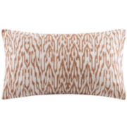 INK+IVY Martina Oblong Embroidered Decorative Pillow
