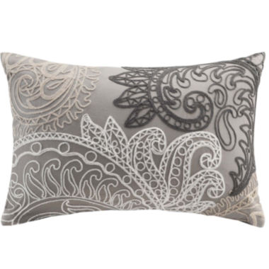 jcpenney.com | INK+IVY Kiran Oblong Embroidered Decorative Pillow