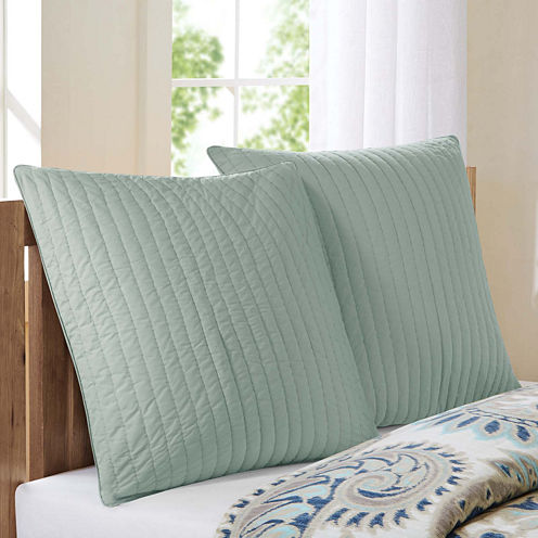 INK+IVY Camila Quilted Euro Sham