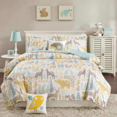 jcpenney.com | INK+IVY Kids Woodland Duvet Cover Set & Accessories