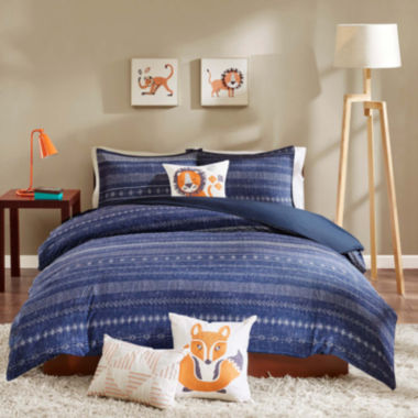 jcpenney.com | INK+IVY Kids Oliver Duvet Cover Set