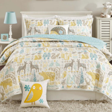 jcpenney.com | INK+IVY Kids Woodland Coverlet Set & Accessories