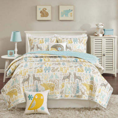 jcpenney.com | INK+IVY Kids Woodland Coverlet Set