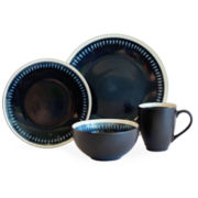 Baum Reactive Lines 16-pc. Dinnerware Set