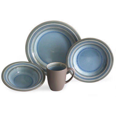 jcpenney.com | Baum Color Stack 16-pc. Dinnerware Set