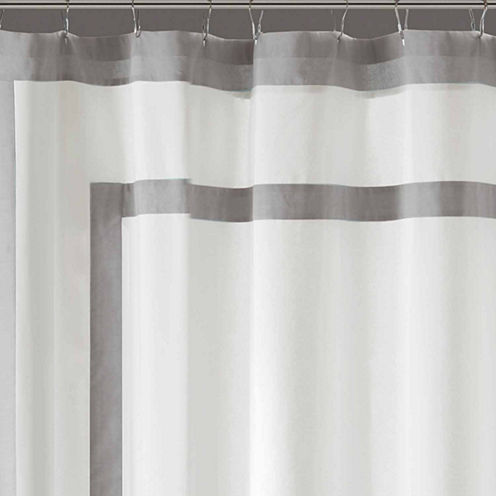 Madison Park Reed Cotton Shower Curtain