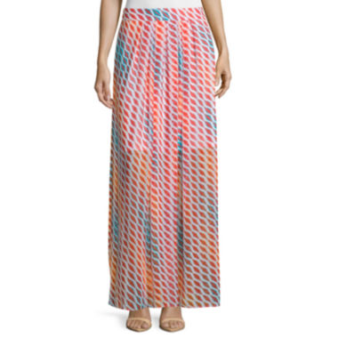 jcpenney.com | Worthington® Pleated Chiffon Maxi Skirt