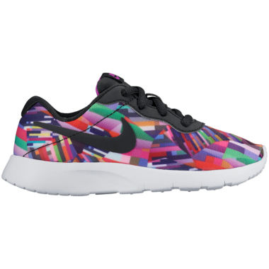 jcpenney.com | Nike® Tanjun Print Girls Athletic Shoes - Little/Big Kids