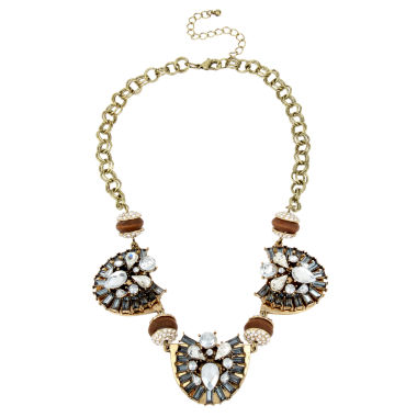 jcpenney.com | Bleu™ Stone Gold-Tone Statement Necklace