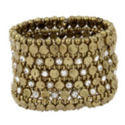 Bleu™ Gold-Tone Stretch Bracelet