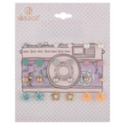 Decree® Camera 12-pr. Earring Set