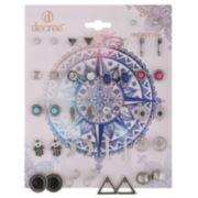 Decree® 21-pr. Hamsa Earring Set