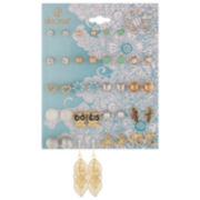 Decree® 21-pr. Mixed Metal Earring Set