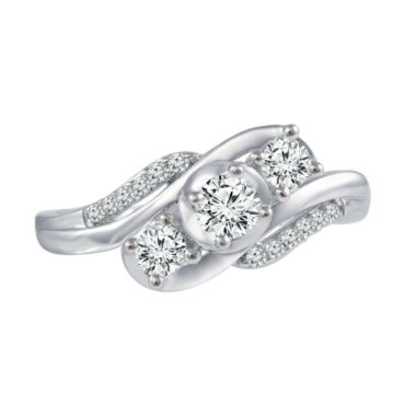 jcpenney.com | Love Lives Forever™ 1/2 CT. T.W. Diamond 10K White Gold Engagement Ring