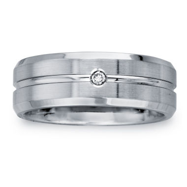 jcpenney.com | Mens 8mm Diamond Accent Cobalt Wedding Band