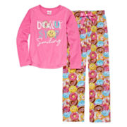 Sleep On It Donut Stop 2-pc. Sleep Pants Set - Preschool Girls 4-6x