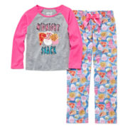 Sleep On It Midnight Snack 2-pc. Sleep Pants Set - Preschool Girls 4-6x