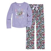 Sleep On It Besties Forever 2-pc. Sleep Pants Set - Preschool Girls 4-6x