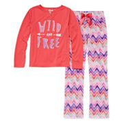 Sleep On It Wild And Free 2-pc. Sleep Pants Set - Preschool Girls 4-6x