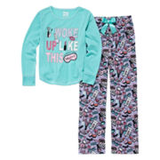 Sleep On It I Woke Up Like This 2-pc. Sleep Pants Set - Preschool Girls 4-6x
